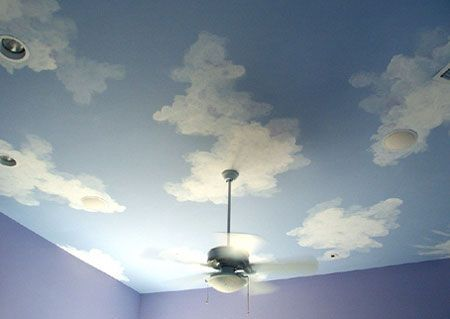 Diy Painting Clouds On A Ceiling New Blog Wallpapers Sky