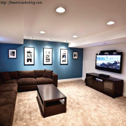 26 Wonderful Good Basement Paint Colors For You Brown Living Room Living Room Colors Living Room Paint