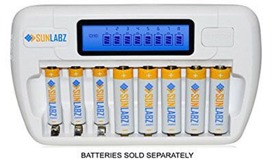Top 10 Best Rechargeable Battery Chargers In 2021 Reviews Amaperfect Rechargeable Batteries Rechargeable Battery Charger Battery Charger