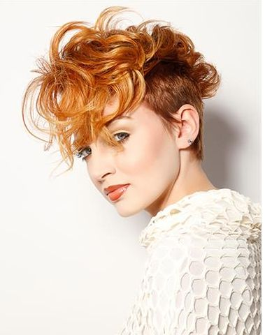 Kupfer Haarfarbe Kurze Haare Frisuren Trend 123 In 2019
