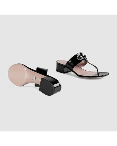 2b3d725c1 Women's Black Patent Leather Horsebit Sandal in 2019 | My Style ...