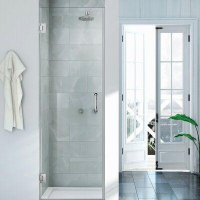 Wet Republic Havana 24 X 72 Hinged Shower Door Finish Chrome