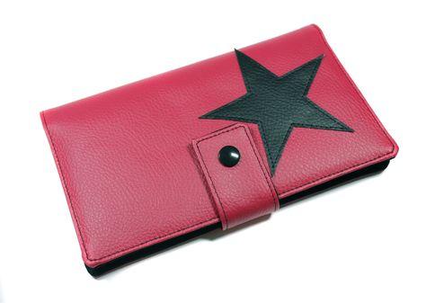 Femmes Porte-Monnaie Portefeuille Portefeuille étoile rose