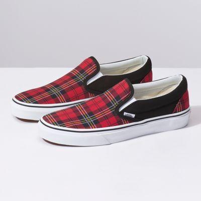 Tartan Slip-On | Slip on sneakers