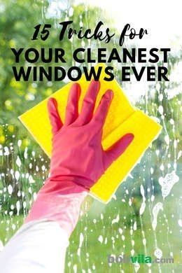 15 Unusual Tips For Your Cleanest Windows Ever Window Cleaner Cleaning Hacks Cleaning