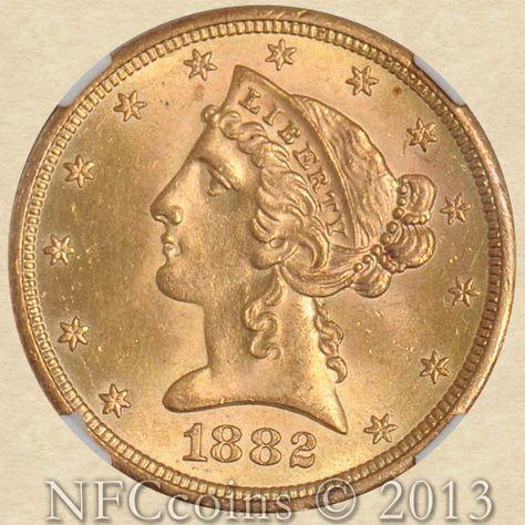 Gold Liberty Ms66 Ngc Obverse