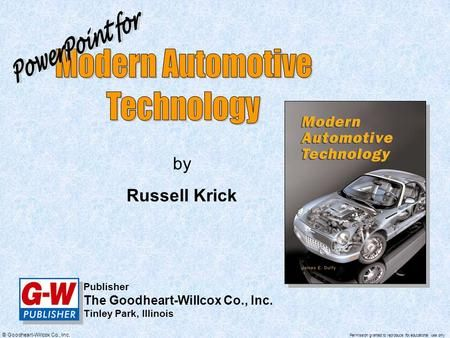 Modern Automotive Technology Powerpoint For By Russell Krick Automatic Transmission Fluid Hydraulic Systems Transmission