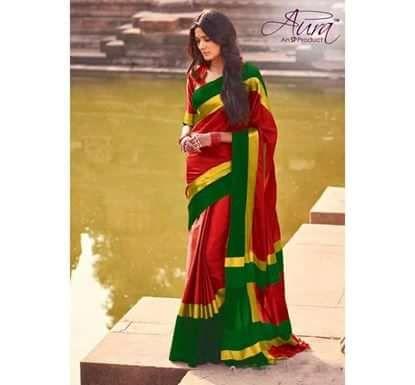 Show Details For Original Aura Chennai Weave Silk Saree Atsw 10 Saree Saree Designs Indian Designer Sarees