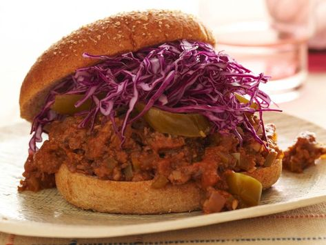 Recipe of the Day: Spicy Vegan Sloppy Joes 🤤 Mushrooms make these kicked-up sloppy joes ultra-meaty — but there's no meat here! These vegan sandwiches might just be the lightest sloppy joes you'll ever make.