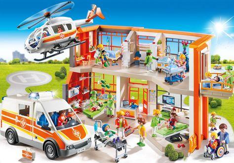 Die Playmobil Kinderklinik ist eines der neuen Themen des Jahres - playmobil badezimmer 4285