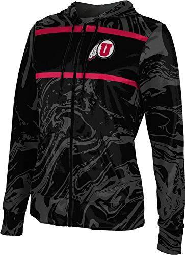 ProSphere University of Utah Mens Pullover Hoodie Marble School Spirit Sweatshirt