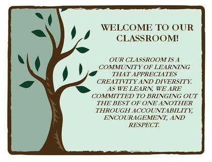Classroom Statement Of Purpose Stephanie Vest Classroom