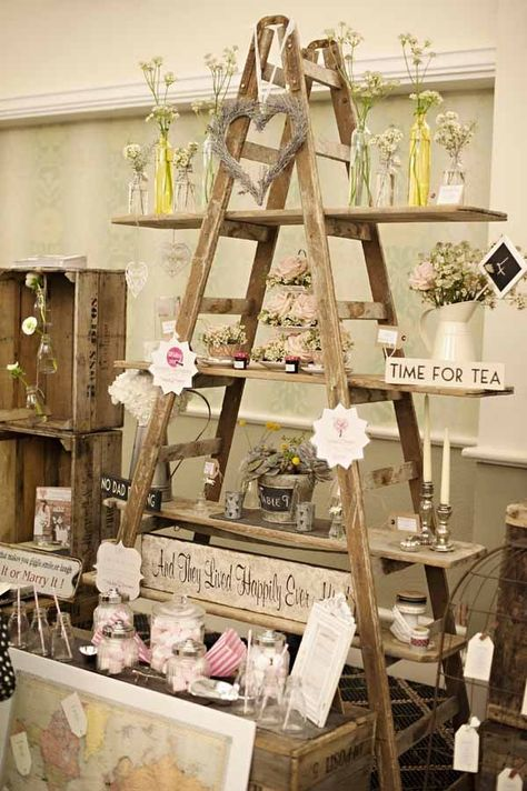 """This ladder display is the perfect visual to show how to """"pyramid"""" in your store.                                                                                                                                                     More"""