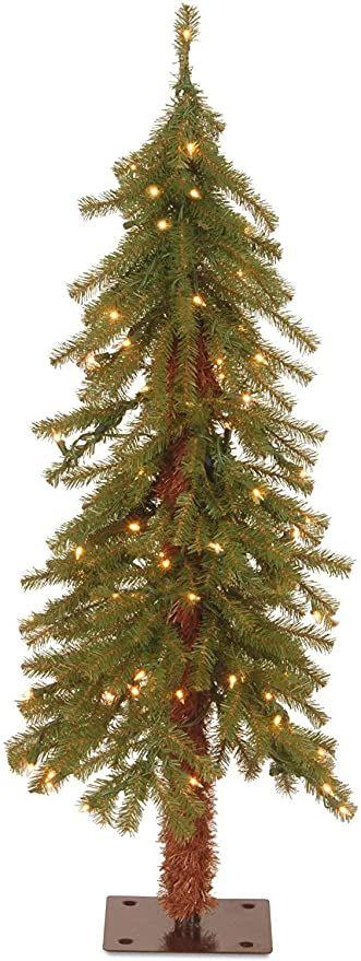 National Tree Company Pre Lit Artificial Christmas Tree Includes Pre Strung White Lights Hi Outdoor Christmas Tree Christmas Tree Artificial Christmas Tree