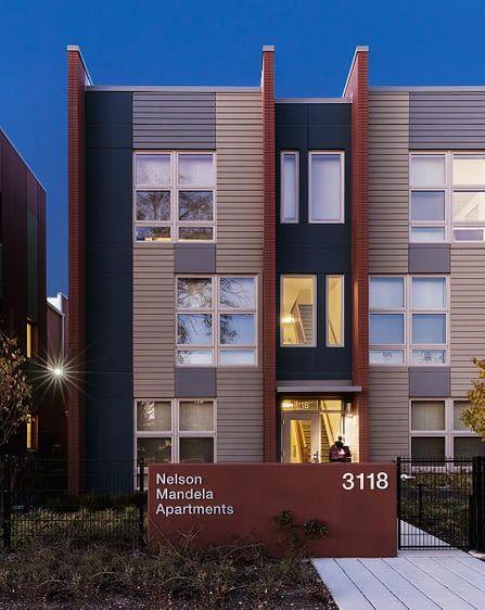 Nelson Mandela Apartments Landon Bone Baker Architects Architect Affordable Housing Apartment