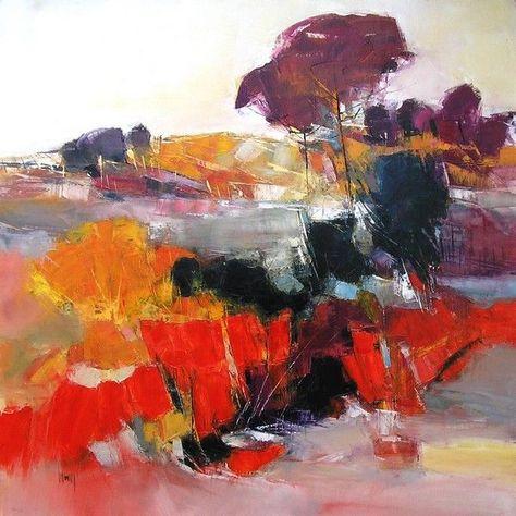 sélection de peintures représentatives #LandscapeArtwork