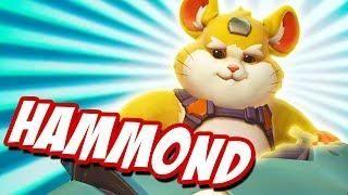 Overwatch New Hero 28 Hammond Wrecking Ball Ptr Gameplay