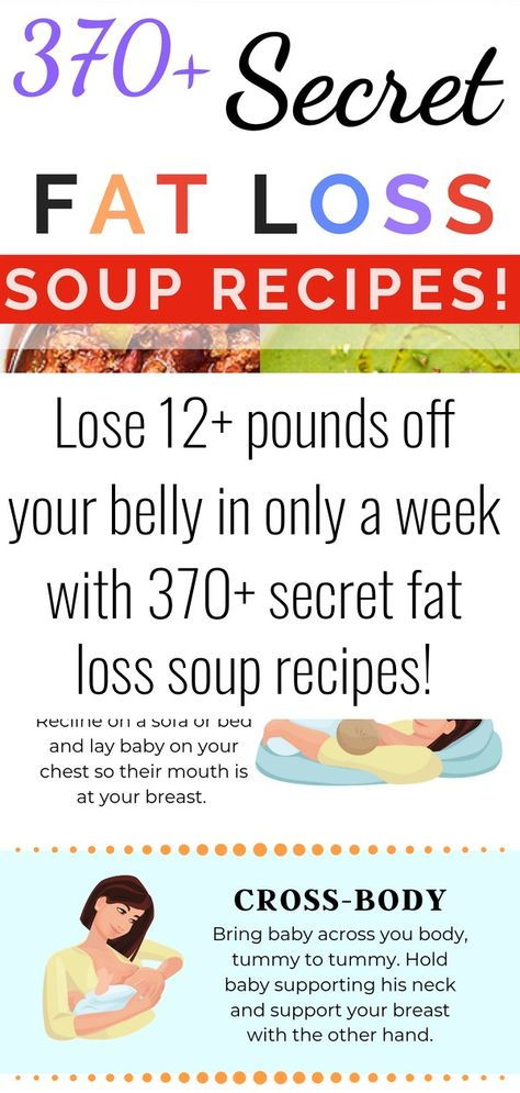 Lose 12+ pounds off your belly in only a week with 370+ secret fat loss soup recipes!