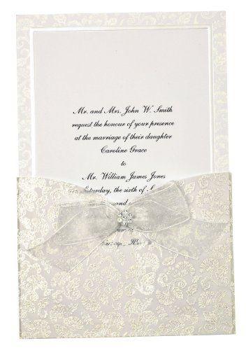 wilton happy day wedding invitation kit by wilton httpwwwamazoncomdpb002qv0gdwrefcm_sw_r_pi_dp_0x0arb01xzw0b invitations pinterest - Wedding Invitations Kit