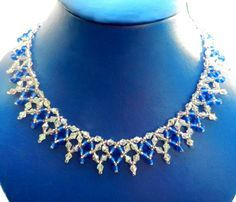 Free pattern for necklace Sky Light -Necklace patterns