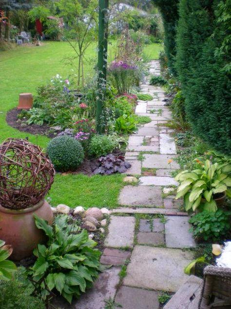 Grundgerüst im Garten - Ideen mit Sträuchern, Flechtwerk und ...
