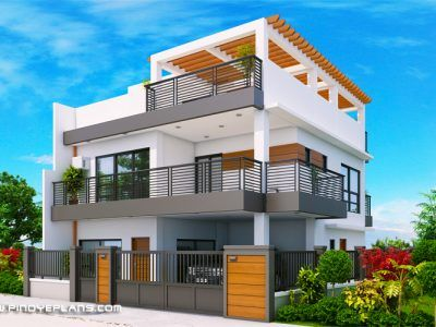 Kassandra Two Storey House Design With Roof Deck Pinoy Eplans 2 Storey House Design Modern House Floor Plans Philippines House Design