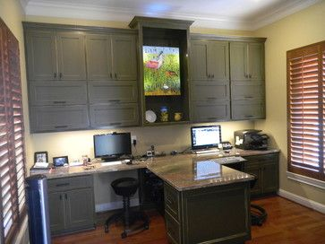 Dual Office Design Ideas, Pictures, Remodel And Decor