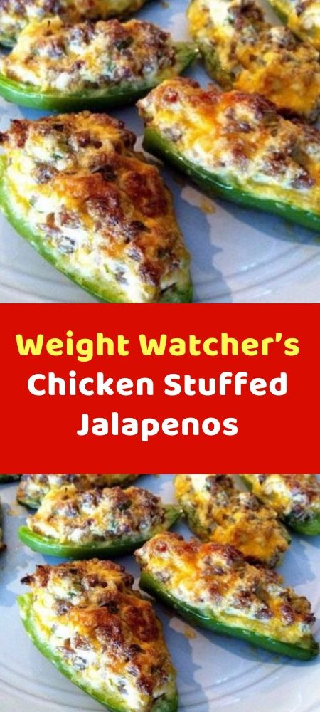 Chicken Stuffed Jalapenos Today again, I remember when jalapeño