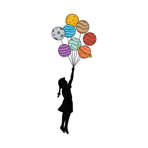 Planets balloons