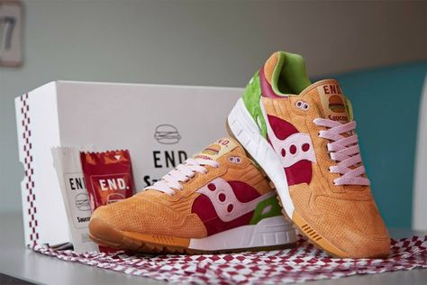 "END. x Saucony Shadow 5000 – ""Burger"""
