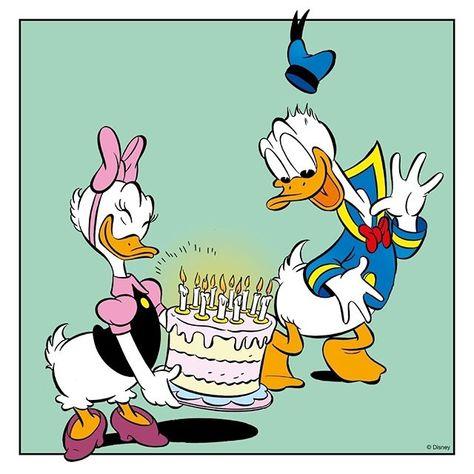 Verjaardag Donald Duck.Pinterest