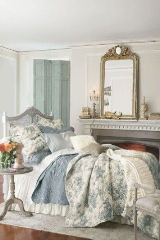 Best 20 French Country Bedrooms Ideas