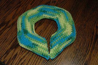 Travel Neck Pillow ♥ Crochet Pattern
