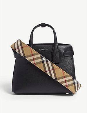 BURBERRY Small Banner tote | Tote, Burberry, Bags