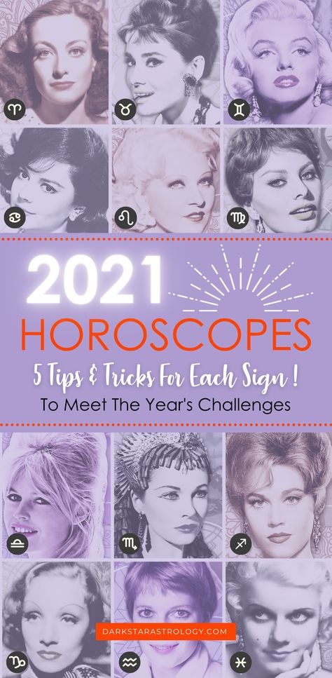 How are we all coping with the Jupiter/Saturn hyper-focus in our charts this year? Each horoscope has a house (Area of life) where these two planets are hitting like a laser beam. Find out where in this years horoscopes. Discover your Saturn challenges and Jupiter opportunities for each zodiac sign! PLUS 50% OFF your 2021 Horoscope in-depth reports. #2021horoscope #2021astrology