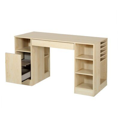 South Shore Crea 53 5 X 23 6 Craft Table In 2021 Craft Table Craft Tables With Storage Furniture