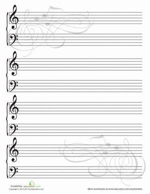 Blank Sheet Music Blank Sheet Music Sheet Music Piano Sheet