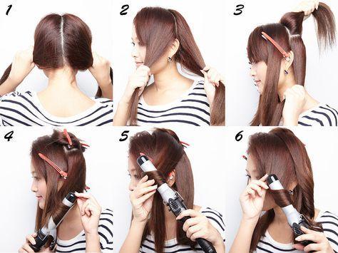 まとめ コテの使い方おさらいしましょ 巻き髪の基本レッスン 画像