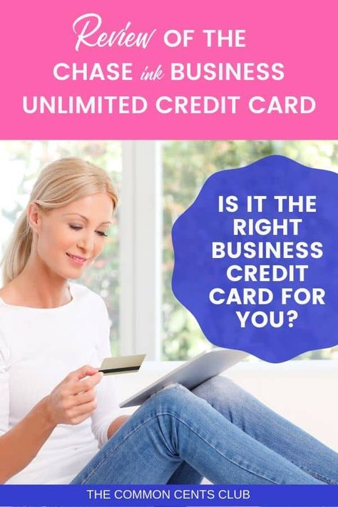 chase ink business unlimited credit card review in 2020