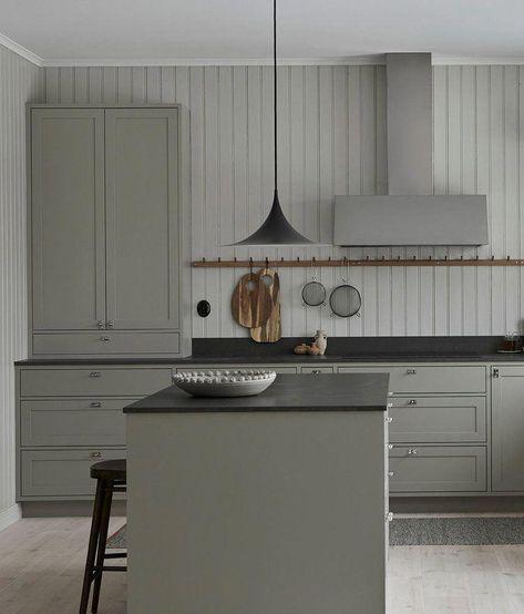 Minimalistkitchen Interior Design: In-frame Shaker Kitchen In Scandinavian