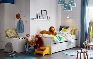 chambre enfant ikea trundle bed