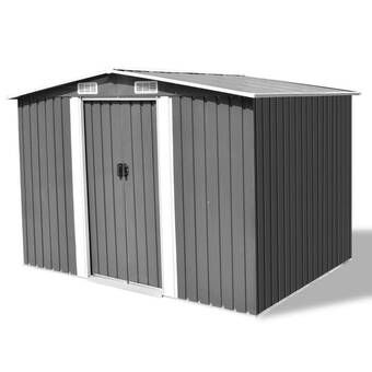 Vanilla Outdoor 4 Ft 10 In W X 6 Ft 8 In D Plastic Horizontal Tool Shed Outdoor Storage Sheds Shed Storage Metal Storage Sheds
