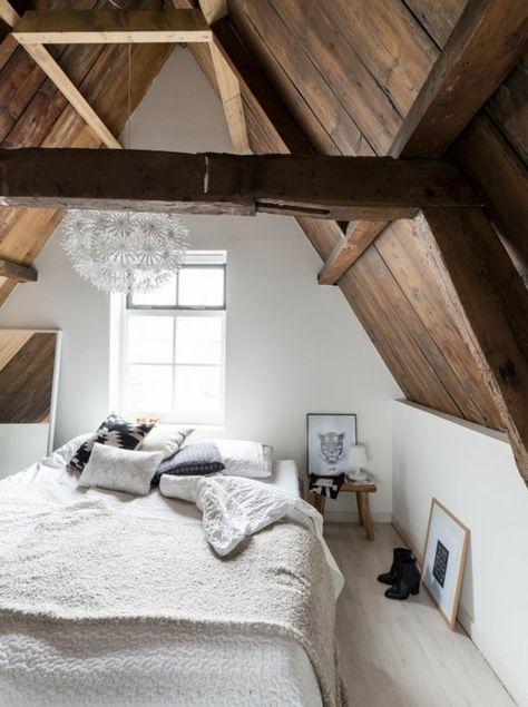 1001 Idees Deco De Chambre Sous Pente Cocoon Deco Chambre