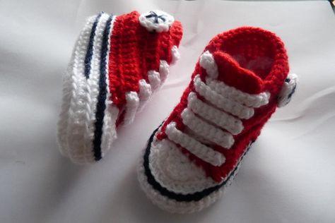 converse bebe rojas