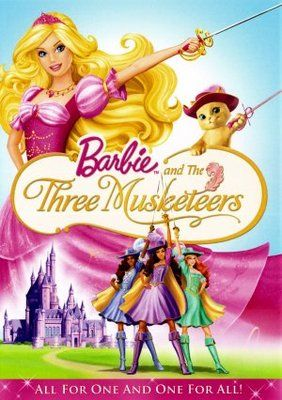 Barbie And The Three Musketeers 2009 Poster The Three Musketeers