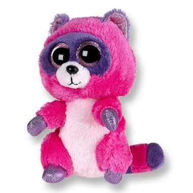 bd703d77431 Ty Beanie Boo s knuffel wasbeer Roxie - 15 cm - 1