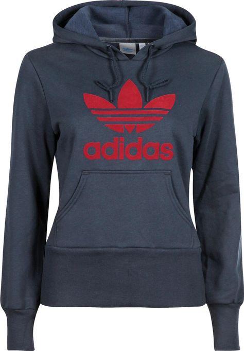 Original New Arrival Adidas Orginals FLOCK HOODY Men's