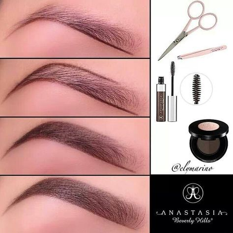 Perfect brow tutorial.