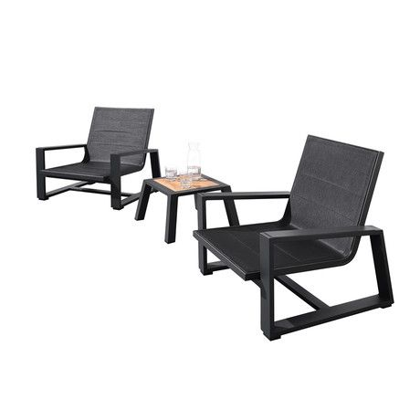 St Lucia 3 Piece Outdoor Setting