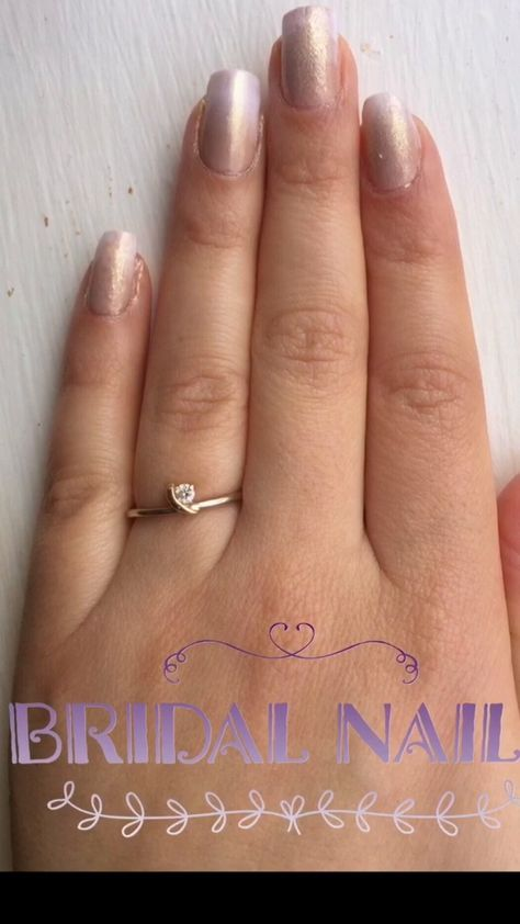 Bridal Nail Design. Made by @Thatgurlnatalie . #NailPolish #Beauty #MakeupSponge #NailDesign #Wedding #beauty